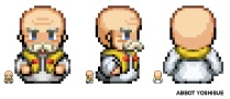 Pixel Character - Abbot