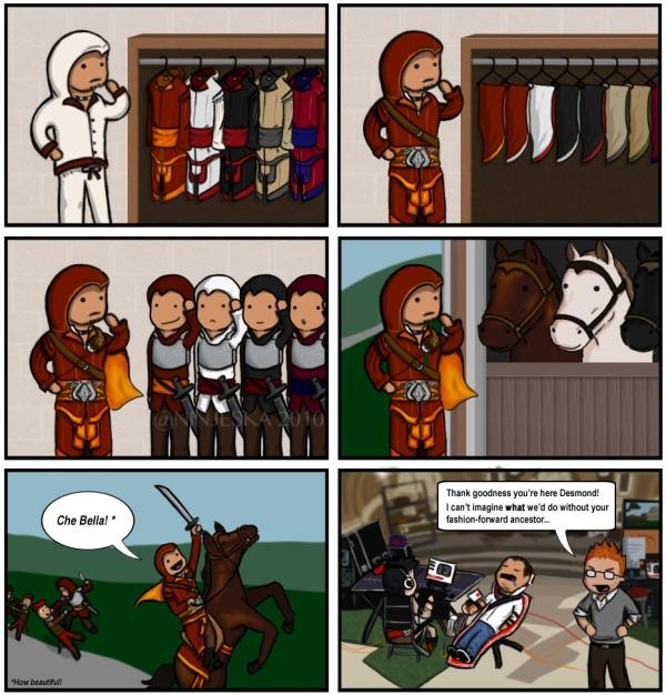 Assassin Fashionista Comic (2010)